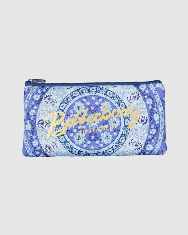 0 Gracefull Pencil Case Blue 6603501 Billabong