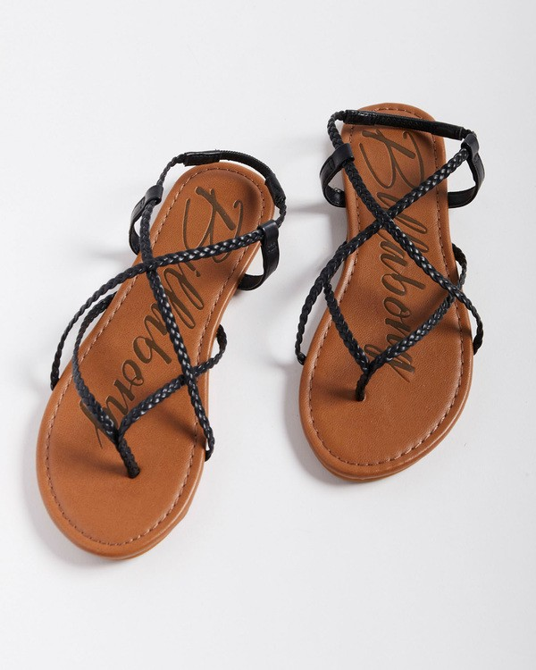 0 Crossing Over 3 Sandals Black 6603815 Billabong