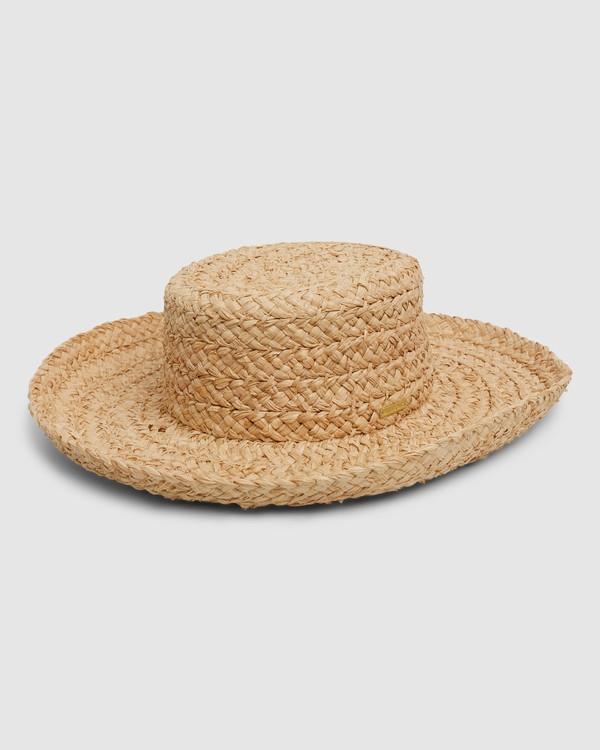 0 Bonita Straw Hat Beige 6604314 Billabong
