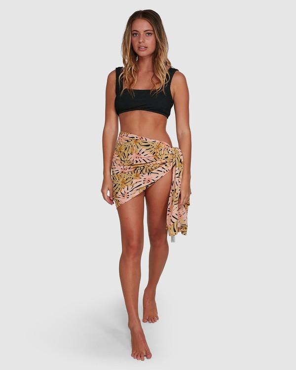 0 Hula Palm Sarong Black 6604534 Billabong