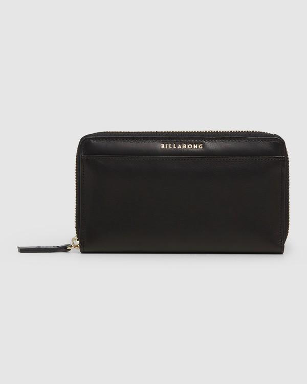 0 Big City Leather Wallet Black 6607204 Billabong