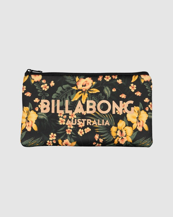 0 Nerissa Pencil Case Black 6607501 Billabong
