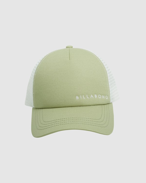 0 Serenity Trucker Cap Green 6613306 Billabong