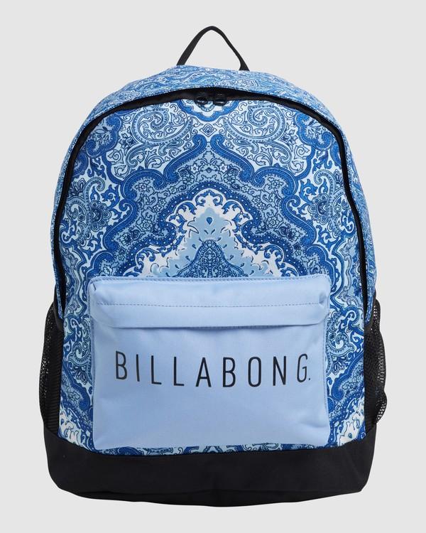 0 Wild Sun Tiki Backpack Blue 6617004 Billabong