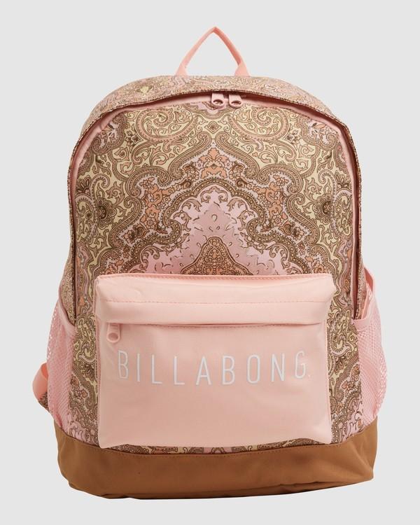 0 Wild Sun Tiki Backpack Pink 6617004 Billabong