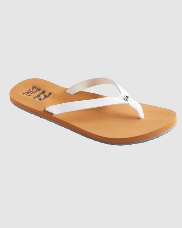 0 Shore Breakerz Sandals White 6617821 Billabong