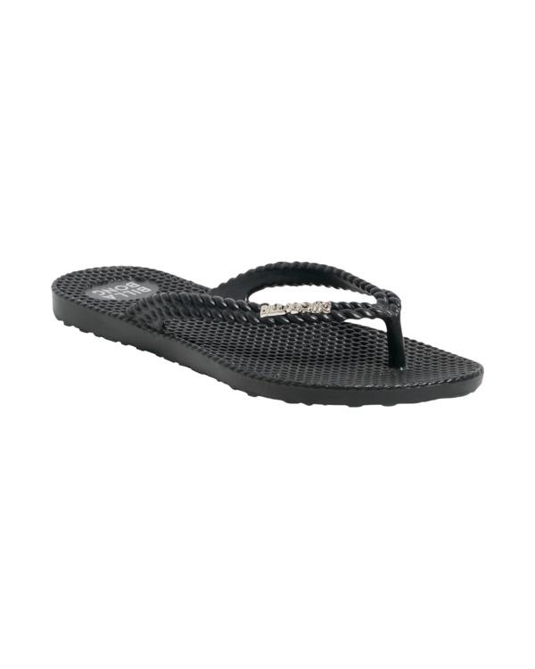 0 Kick Back Solid Thongs Black 6661856 Billabong