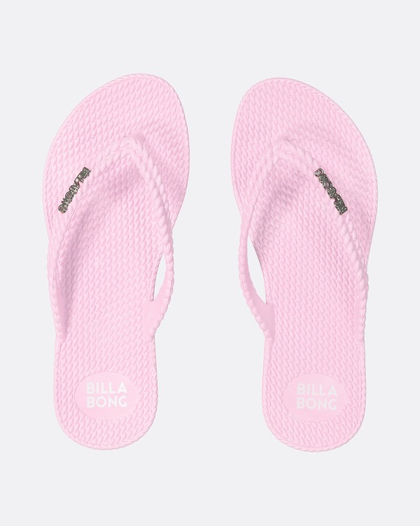 0 Kick Back Solid Thongs Pink 6661856 Billabong