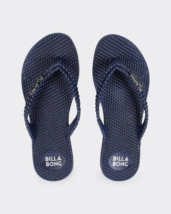 0 Kick Back Solid Thongs Blue 6661856 Billabong