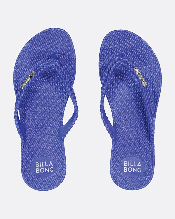 0 Kick Back Solid Thongs Blue 6661856 Billabong