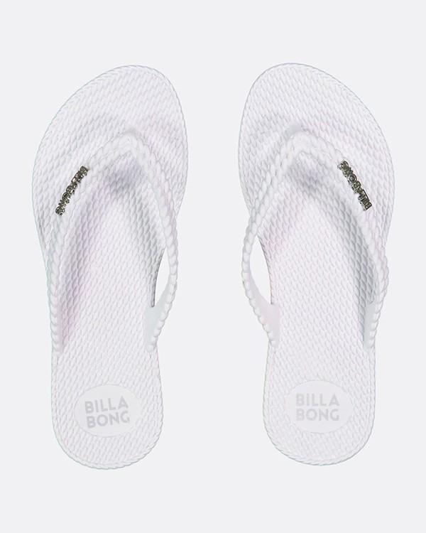 0 Kick Back Thongs White 6661856 Billabong