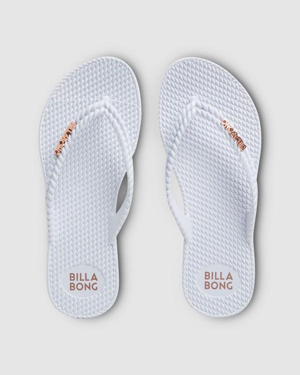 0 Kick Back Solid Thongs White 6661856 Billabong