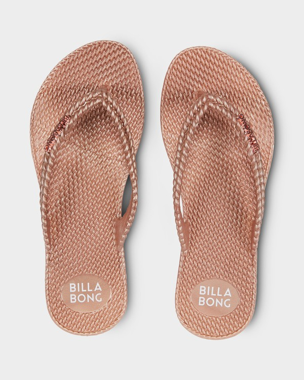 0 KICK BACK THONGS Pink 6661858 Billabong