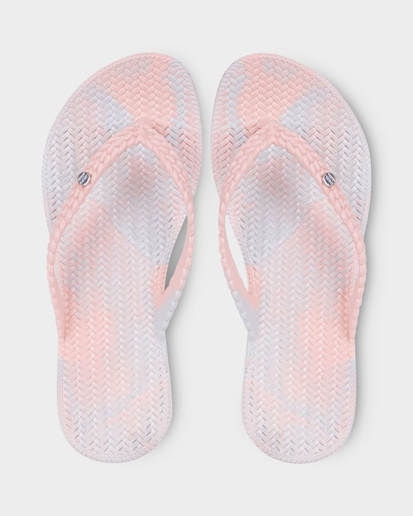 0 Summer Dazed Marble Thongs Green 6671801 Billabong