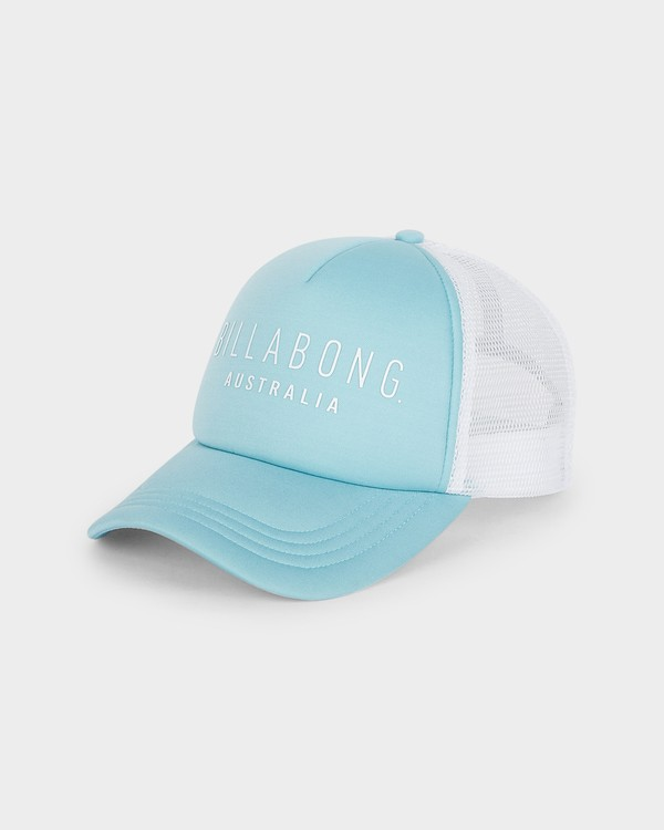 0 All Time Trucker Cap Blue 6681301 Billabong