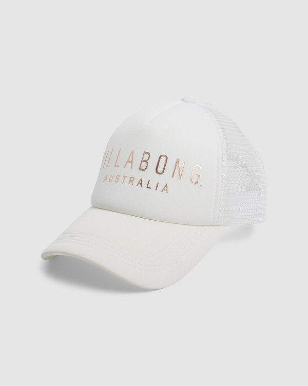 0 All Time Trucker Cap White 6681301 Billabong