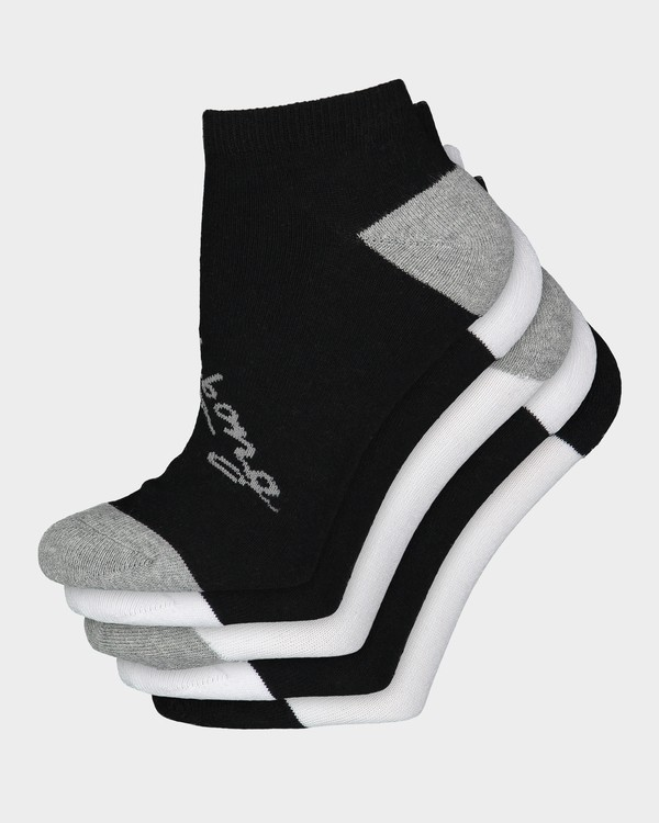 0 Ocean 5 Pack Of Socks Black 6681703 Billabong
