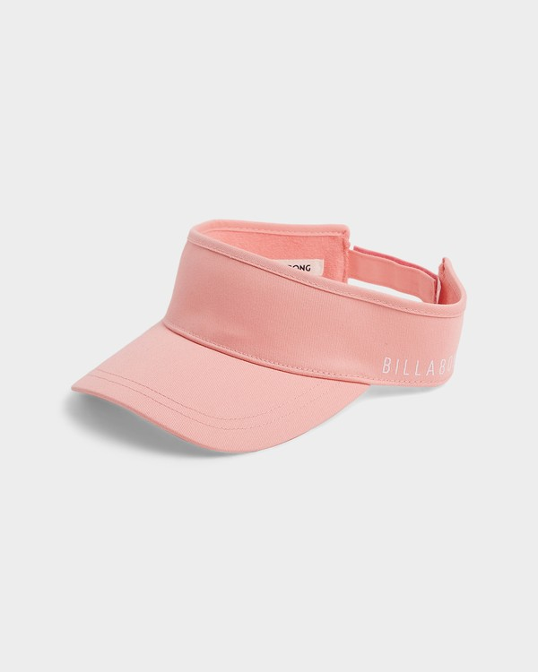 0 Infinity Visor Pink 6685315 Billabong