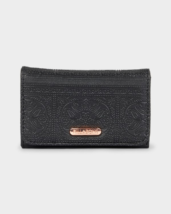 0 Flora Wallet Black 6691201 Billabong