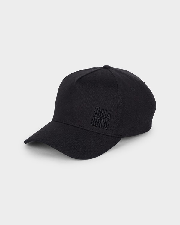 0 Side Stack Cap Black 6691302 Billabong