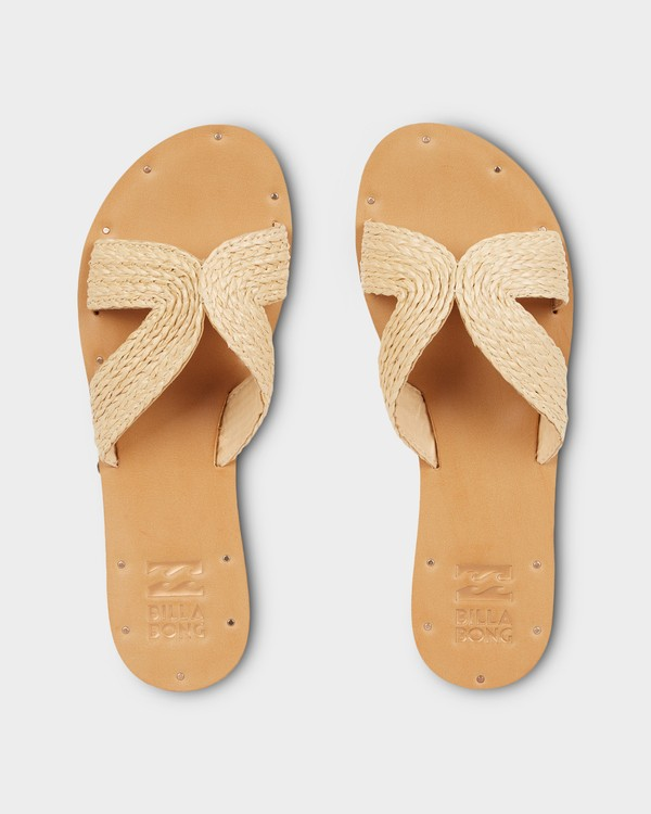 0 SUNSET POINT SLIDE Beige 6691801 Billabong