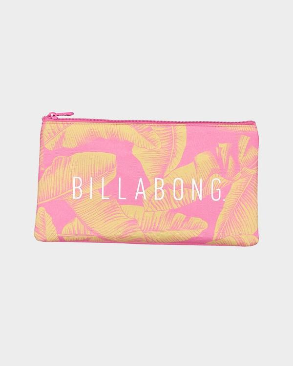 0 Hawaiian Small Pencil Case Pink 6692518 Billabong