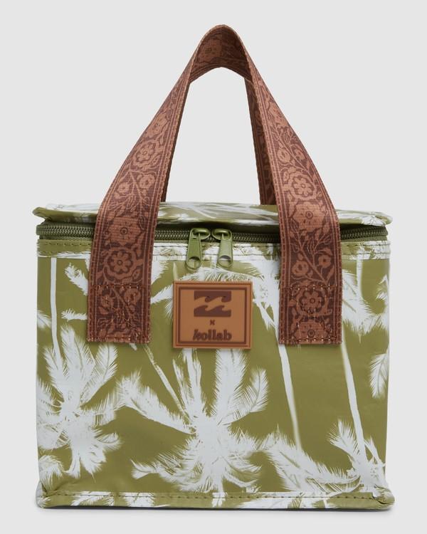 0 KOLLAB PRETTY PALMS LUNCH BOX Green 6692545M Billabong