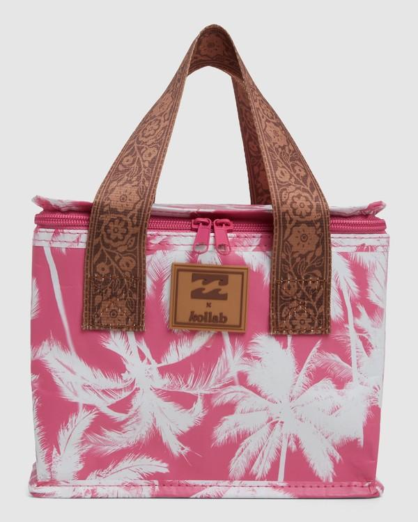 0 KOLLAB PRETTY PALMS LUNCH BOX Pink 6692545M Billabong