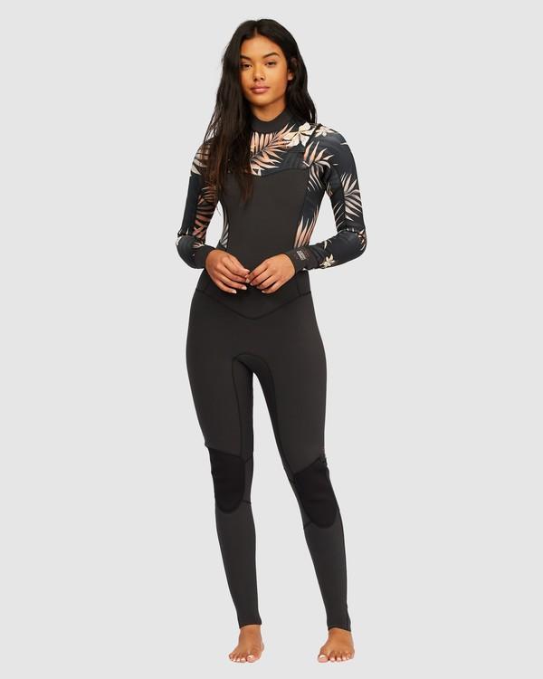0 3/2 Salty Dayz Full Wetsuit Black 6713830 Billabong