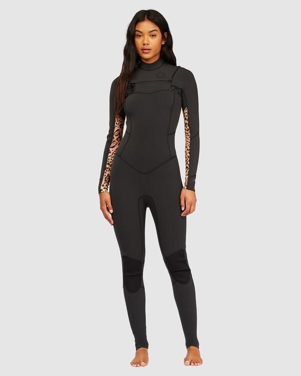 0 3/2 Salty Dayz Full Wetsuit Brown 6713830 Billabong
