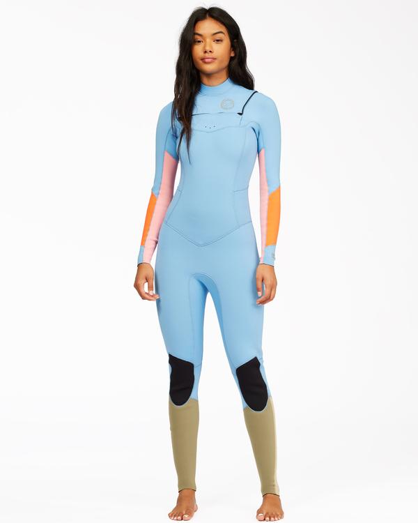 0 3/2 Salty Dayz Full Wetsuit Red 6713830 Billabong