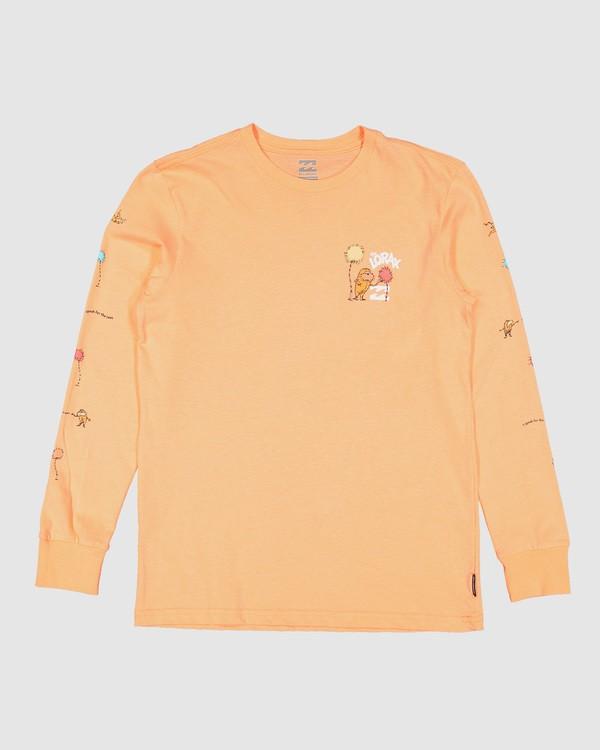 0 Dr. Seuss Lorax Long Sleeve Tee Orange 7508140 Billabong