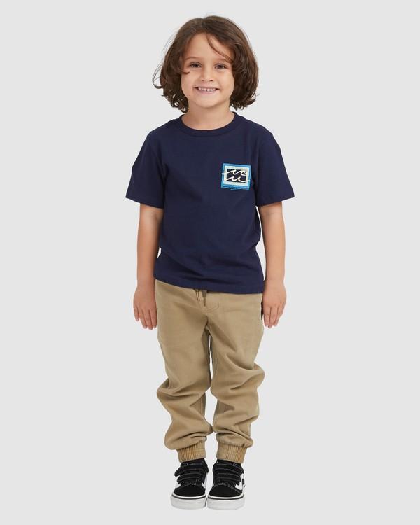 0 BOYS BUNYIP SS Blue 7517025 Billabong