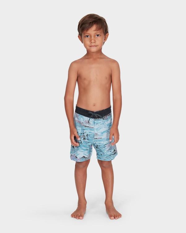 0 BOYS SUNDAYS LO TIDE BOARDSHORT Blue 7582409 Billabong