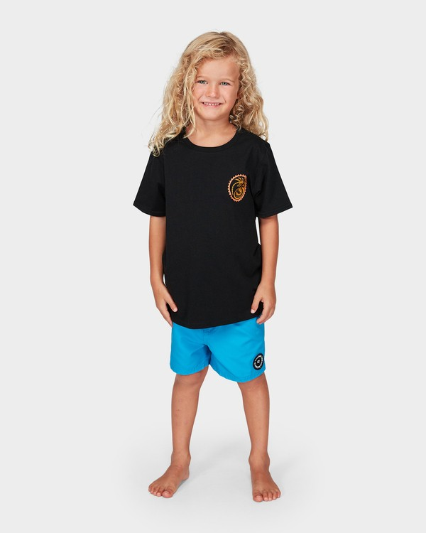 0 Groms Lil Yang Tee Black 7592008 Billabong
