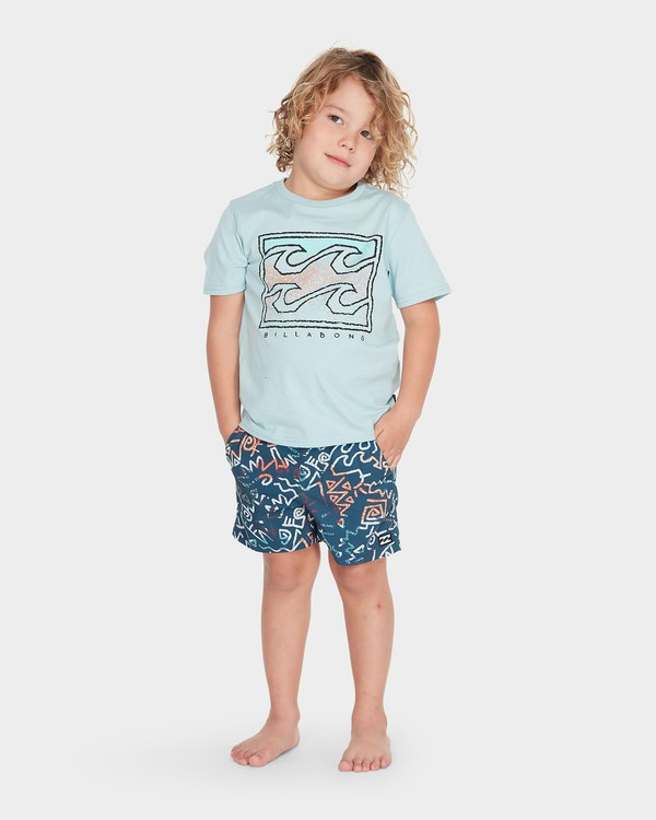 0 BOYS ISLAND TEE  7595001 Billabong