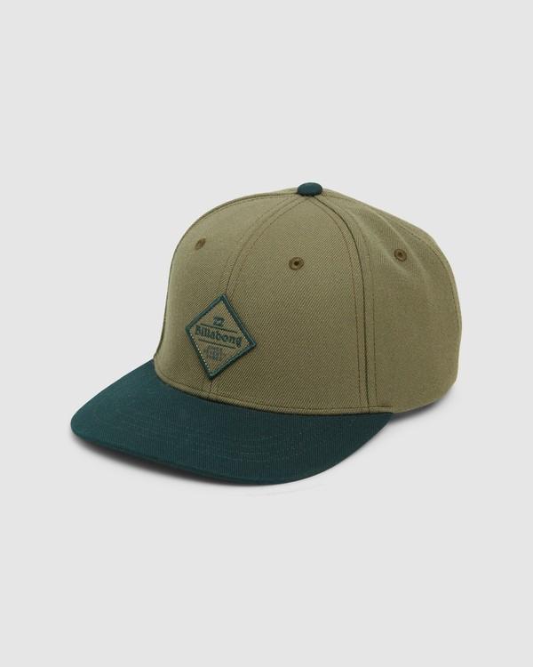 0 Groms Mixed Snapback Cap Green 7607342 Billabong
