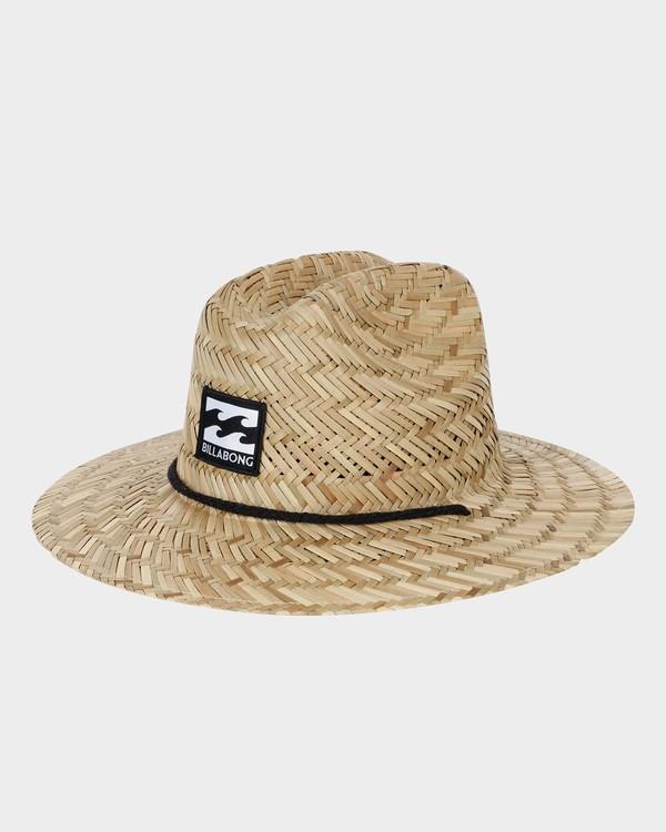 0 GROMS TIDE STRAW HAT Beige 7672301 Billabong
