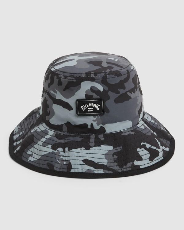 0 Groms Division Revo Hat Black 7691312 Billabong