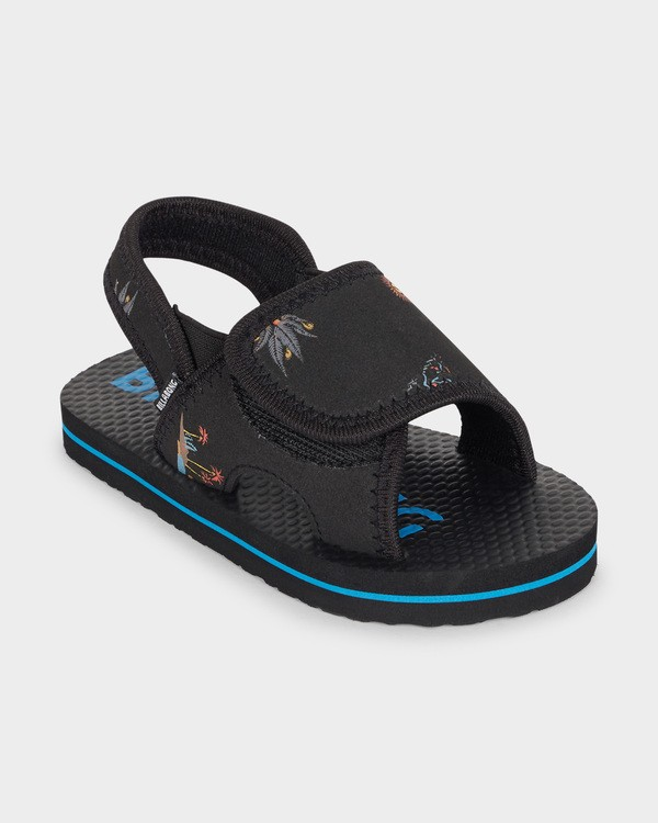 0 GROMS ISLAND SLIDE Black 7691937 Billabong