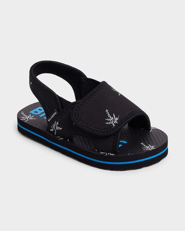 0 Groms Island Slide Thongs Black 7692937 Billabong