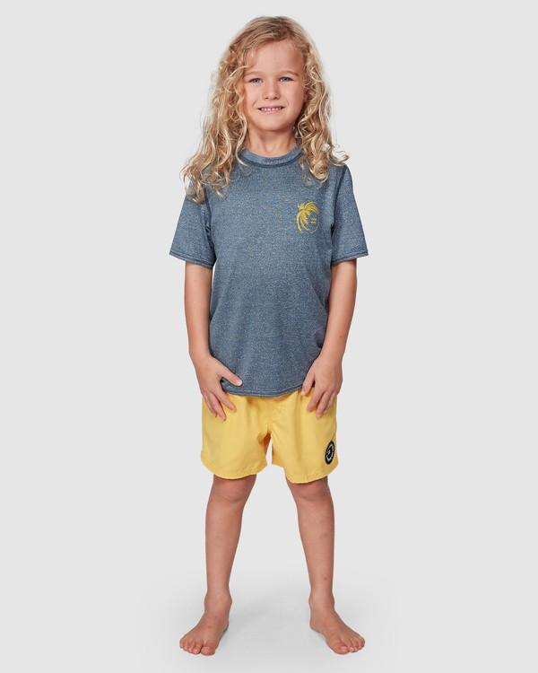 0 Groms Storm Long Sleeve Surf Shirt Blue 7707506 Billabong