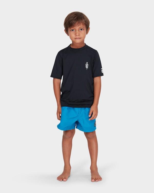 0 BOYS SHORT SLEEVE SURF SHIRT Black 7782001 Billabong