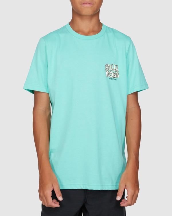 0 Boys Jaws Short Sleeve Tee Blue 8503000 Billabong