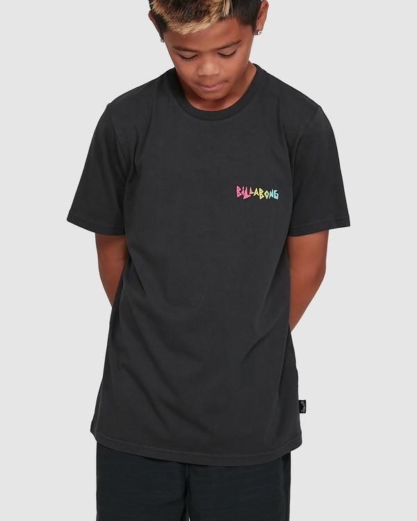 0 Boys Mondo Short Sleeve Tee Black 8503031 Billabong