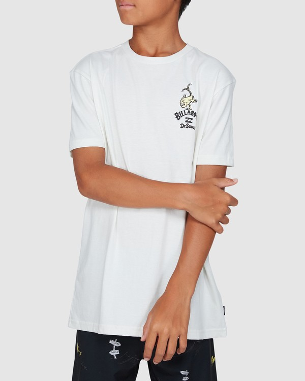 0 Dr. Seuss Boys From Here To There Tee White 8503081 Billabong