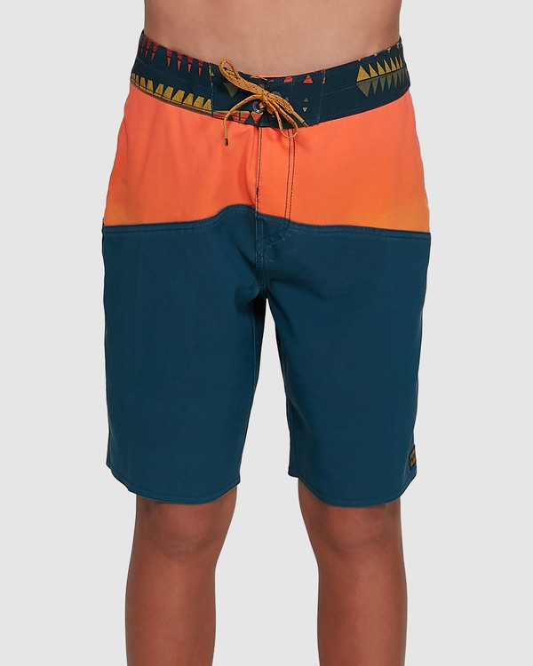 0 Boys Fifty50 Pro Boardshorts Orange 8503403 Billabong