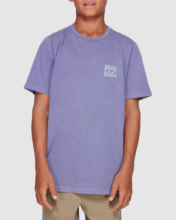 0 Boys Full Froth Tee Purple 8507040 Billabong