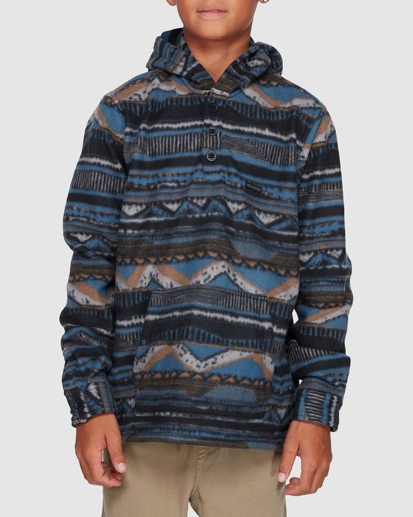 0 Boys Furnace Anorak Blue 8507211 Billabong