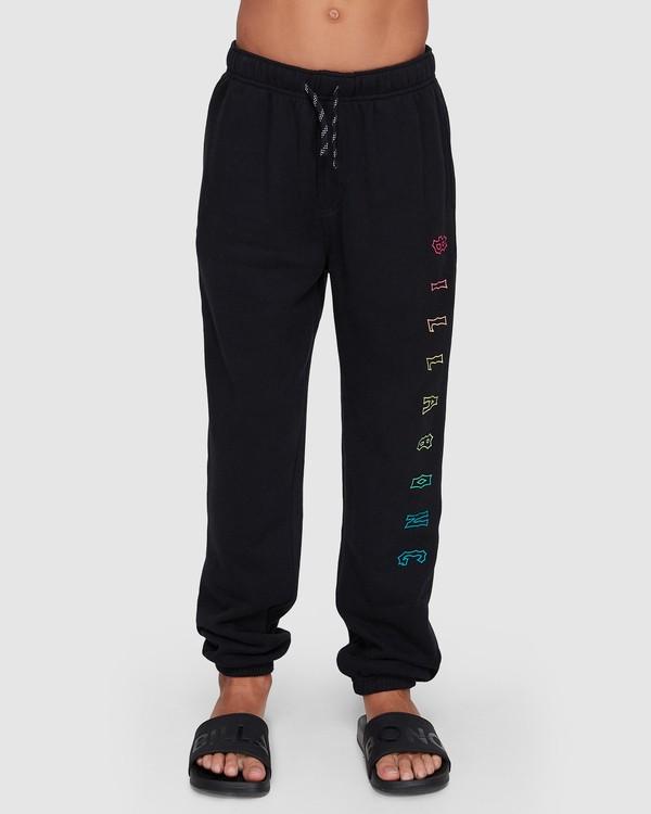 0 Boys Arch Track Pants Black 8507657 Billabong